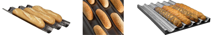 деко для бургеров, противни для круассанов, противень для чиабатты, противни для гамбургеров купить