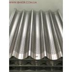 Противень перфорированный Pansystem для багетов 600x400х36 мм