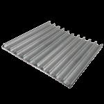 Противень перфорированный Pansystem для багетов 800x600х38 мм