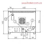 Конвекционная печь Unox XF 003 Roberta